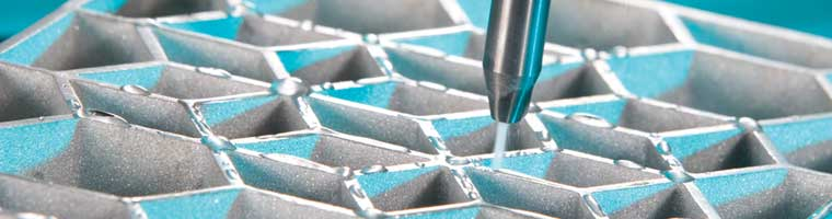 Dynamic Waterjet cutting aluminum